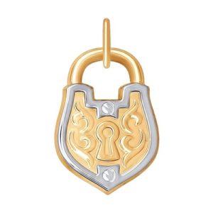 Подвеска из золота «Замок»