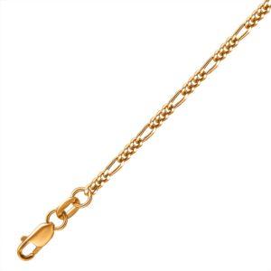 Цепь из золота полновесная  Фигаро 1 3