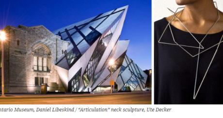 Куратор «Ювелирного дизайна» БВШД написал о влиянии архитектуры на украшения