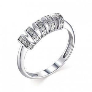 Кольцо из Серебра с Кубическим цирконием