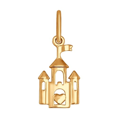 Подвеска «Золотой замок»