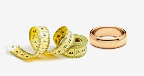 Как узнать размер кольца сидя дома?