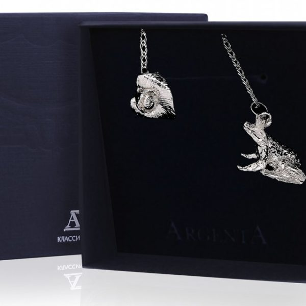 Ионизатор из серебра Царевна-Лягушка