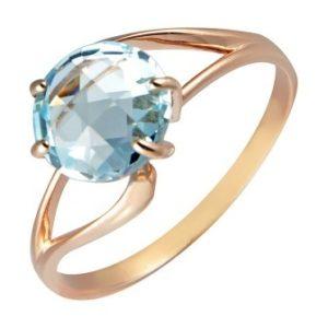 Кольцо из золота с Топазом