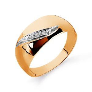 Кольцо обручальное из золота с Бриллиантами