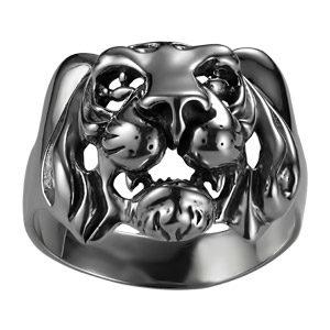 Печатка из серебра Тигр