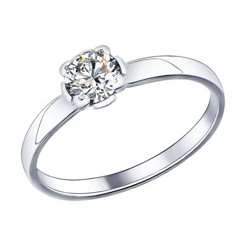 Кольцо из Серебра с Фиаинитом