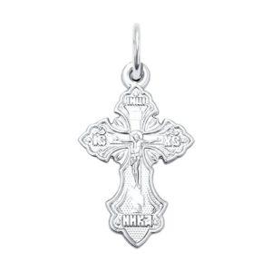 Подвеска из серебра Крест