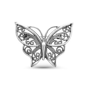 Брошь Бабочка из Серебра