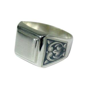 Печатка из Серебра с чернением
