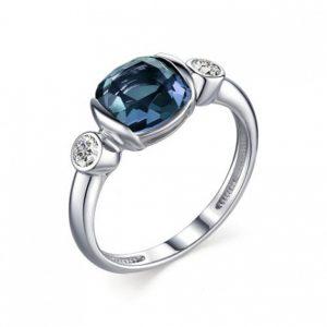 Кольцо из Серебра с Лондонтопазом