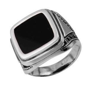 Печатка из Серебра с Агатом