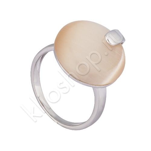 Кольцо из Серебра с Кошачьим глазом